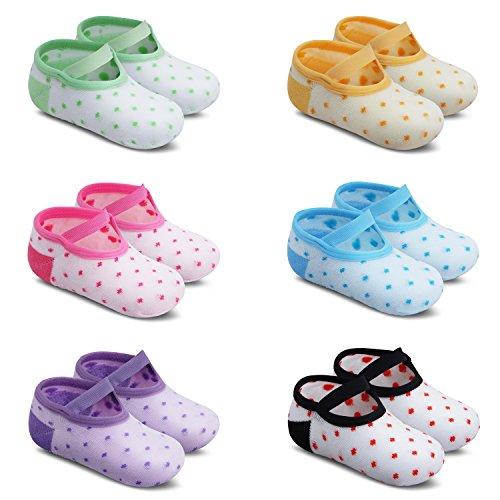 Ateid Baby Socken Anti-Rutsch Stoppersocken 6er-Pack