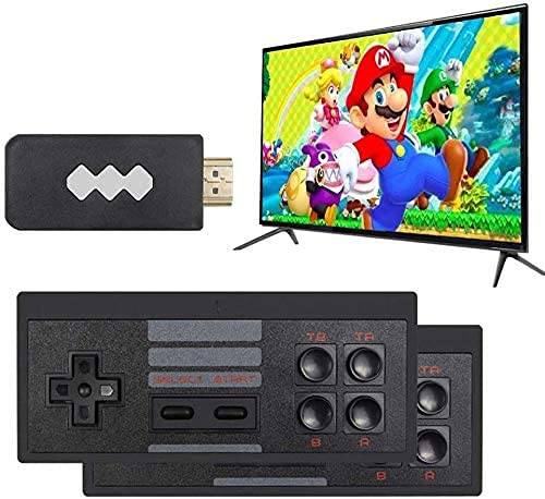 Sunnny Retro Game Console, Wireless Controller, Av Output Nes Game Console, Built-In 620 Classic Games, Mini Portable Console Plug-And-Play Home Video Game Console, Tv, Children And Adults