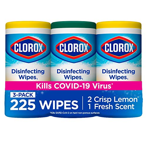 Clorox Disinfecting Wipes Value Pack Only $9.22 (Retail $11.97)
