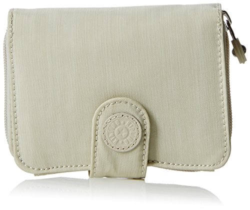 Kipling NEW MONEY BASIC PLUS K1388632V Damen Taschenaschenbecher 9x12x3 cm (B x H x T), Beige (Dazzling Cream 32V)