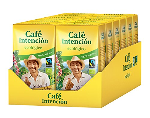 Darboven Café Intención Ecolögico Gemahlener Kaffee 12x500 gr.