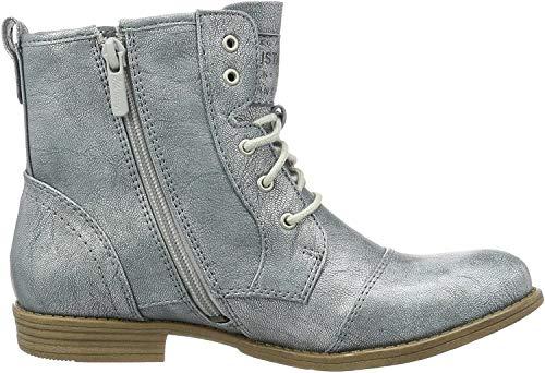 MUSTANG Damen 1157-543-852 Combat Boots, Blau (852 Heaven), 42 EU