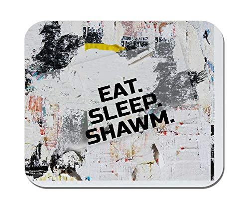 Makoroni - EAT Sleep Shawm Music Musician - Non-Slip Rubber - Computer, Gaming, Office Mousepad