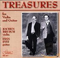 Treasures for Violin & Guitar