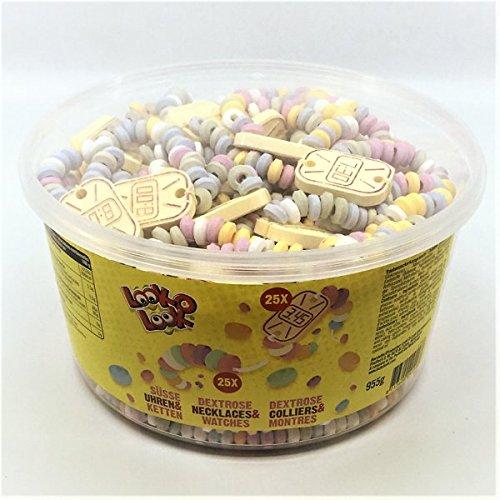 Candy Necklaces Süße Hals-Ketten und Armband-Uhren 50 Stück