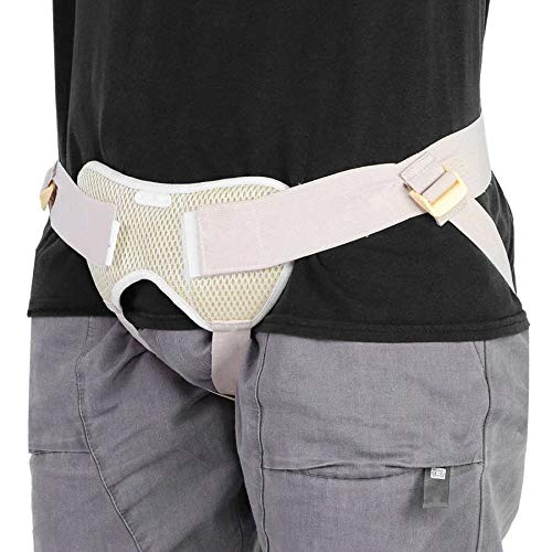 Nuevo cinturón inguinal ajustable de la hernia de la hernia de la cintura ajustable de la hernia de la hernia de la ingle Support Bag para adultos Atención anciana Hernia Atención de salud 21-309