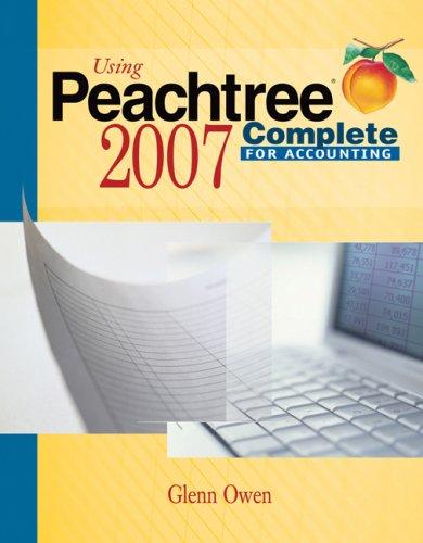 peachtree accounting program - 2