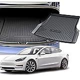 wolfjuvenile Forro para Maletero para Tesla Model S/X 2018-2021, Funda De Asiento Trasero Impermeable Antideslizante De Goma TPE, Alfombrilla para Bandeja De Maletero, FáCil De Limpiar,Models