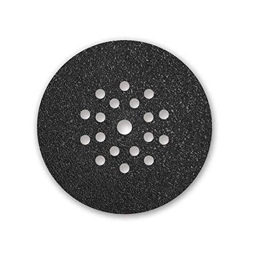 MENZER Black Klett-Schleifscheiben, 225 mm, 19-Loch, Korn 16, f. Trockenbauschleifer, Siliciumcarbid (10 Stk.)