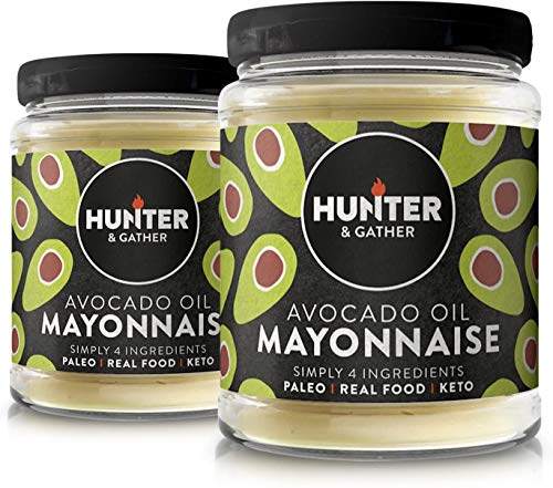 Hunter & Gather 2 X 250g (Pack Doble) Mayonesa De Aguacate | Hecha Con Aceite De Aguacate...