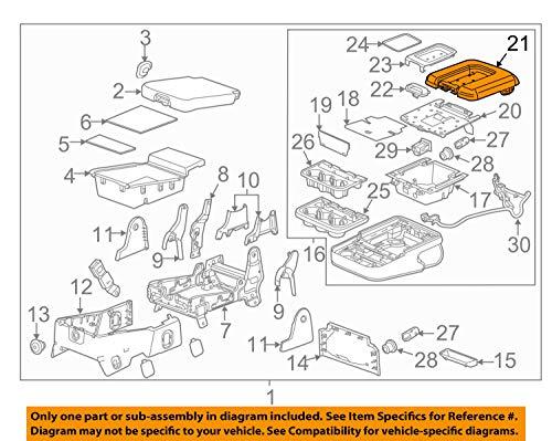 GM 22881398 LID ASM-F/SEAT A/RSTBLACK