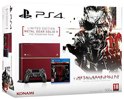 Console PS4 500 Go - édition limitée + Metal Gear Solid V : The Phantom Pain - édition day one - [Edizione: Francia]