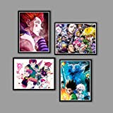 Anime Poster Pictures Painting Prints Canvas Wall Art for Bedroom Living Room Decor Birthday Gift Unframed 8x10in