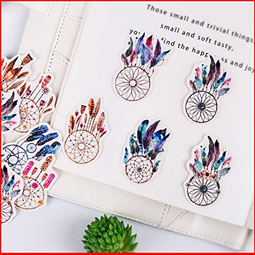 Planer Happy Craft, stickers voor albums, personaliseerbaar, 17 stuks