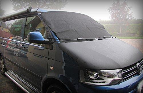 Pokfrost Neuheit!!!Scheibenabdeckung mit Klettverschluss Passend für VW Busse. Frostabdeckung für Alle gängigen Windchutzscheiben. Größe 158x96 (Breite x Höhe)
