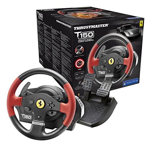 Thrustmaster - Volant T150 Ferrari Force Feedback - PS4/PS3/PC