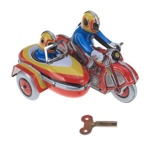 Unbekannt Uhr Arbeiten Spielzeugmotorrad W / Side Car
