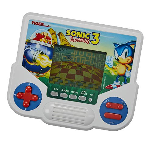 Hasbro Gaming Tiger Electronics Sonic The Hedgehog 3 Elektronisches LCD-Videospiel, Retro-inspirierte Edition, Handheld 1 Player, ab 8 Jahren