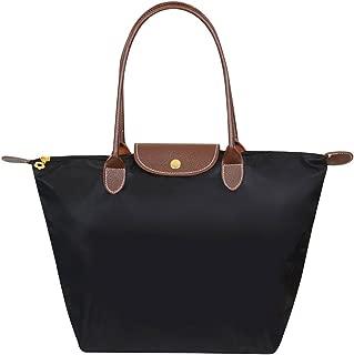 Wiwsi New Women Handbag Nylon Waterproof Top Handle Totes Foldable Shopping Bags