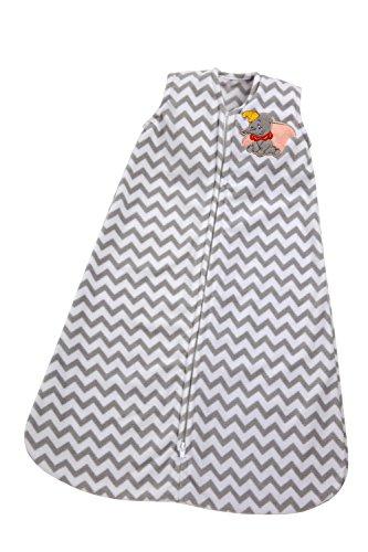 Disney de Dumbo Wearable manta, Gris, tamaño mediano