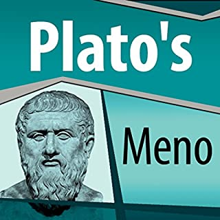 Plato's Meno audiobook cover art