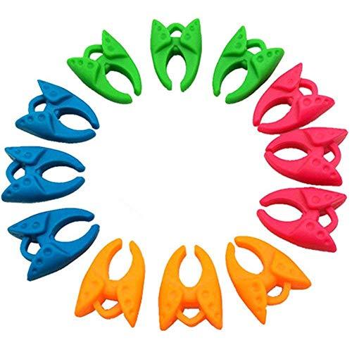 YEQIN Bobbin Holder /Clamps Thread Control Clamp Organizer Holder (12 Pieces)