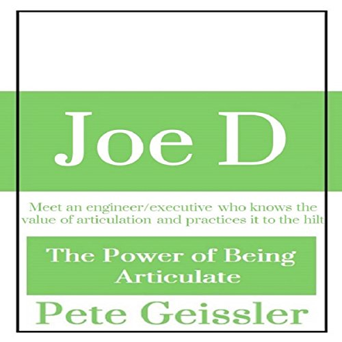 Joe D audiobook cover art