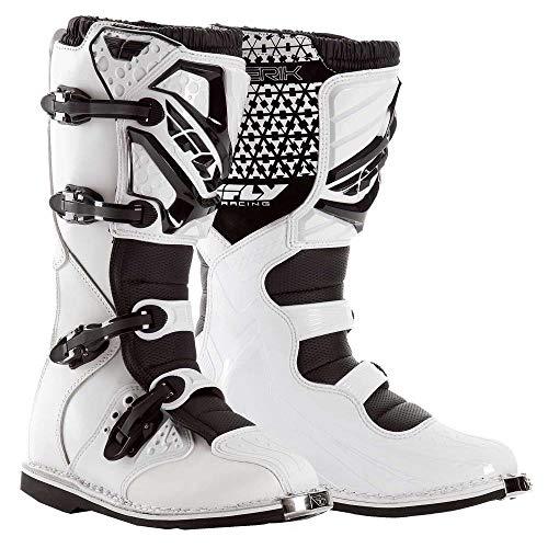 Fly Racing Motocross / Mx Steifel Maverik weiß Größe: 47 Boot Schuh