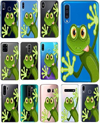 KX-Mobile Hülle für Samsung Galaxy A5 2017 Handyhülle Design 2167 Frosch aus flexiblem Silikon SchutzHülle Softcase HandyCover Hülle für Samsung Galaxy A5 2017