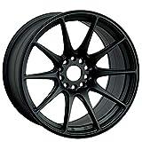 XXR WHEELS 527 Rim 18X8.75 5X100/5X114.3 Offset 35 Flat Black (Quantity of 1)