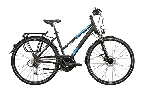 Vermont Eaton - Bicicletas trekking - negro Tamaño del cuad