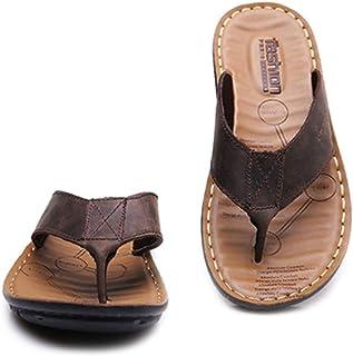 YVWTUC Klapki kapcie letnie buty outdoorowe czas na plażę dla mężczyzn