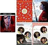 【Amazon.co.jp限定】ムーラン 4K UHD MovieNEX [4K ULTRA HD+ブルーレイ+デジタルコピー+MovieNEXワールド] オリジナルWポケットクリアファイル付き [Blu-ray]