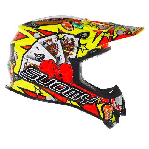 Suomy Helm Moto Cross MR Jump Jackpot, Gelb (Jackpot Yellow), S
