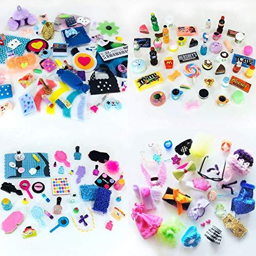happyblockbuilder Littlest Pet Shop LPS 6 Random LPS Accessories Clothes Lot of 6 Random Items in 1 Gift Bag Custom Handmade Outfit No Pet