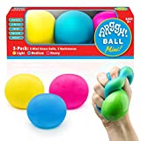 Power Your Fun Arggh Mini Stress Balls for Adults and Kids - 3pk...
