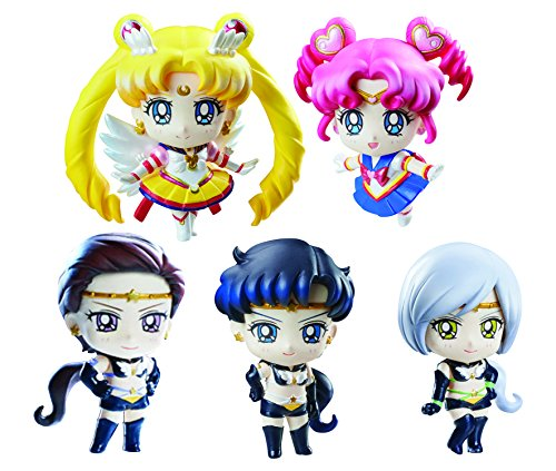Sailor Moon Petit Chara Pretty Soldier pack 5 trading figures Sailor Stars 6 cm