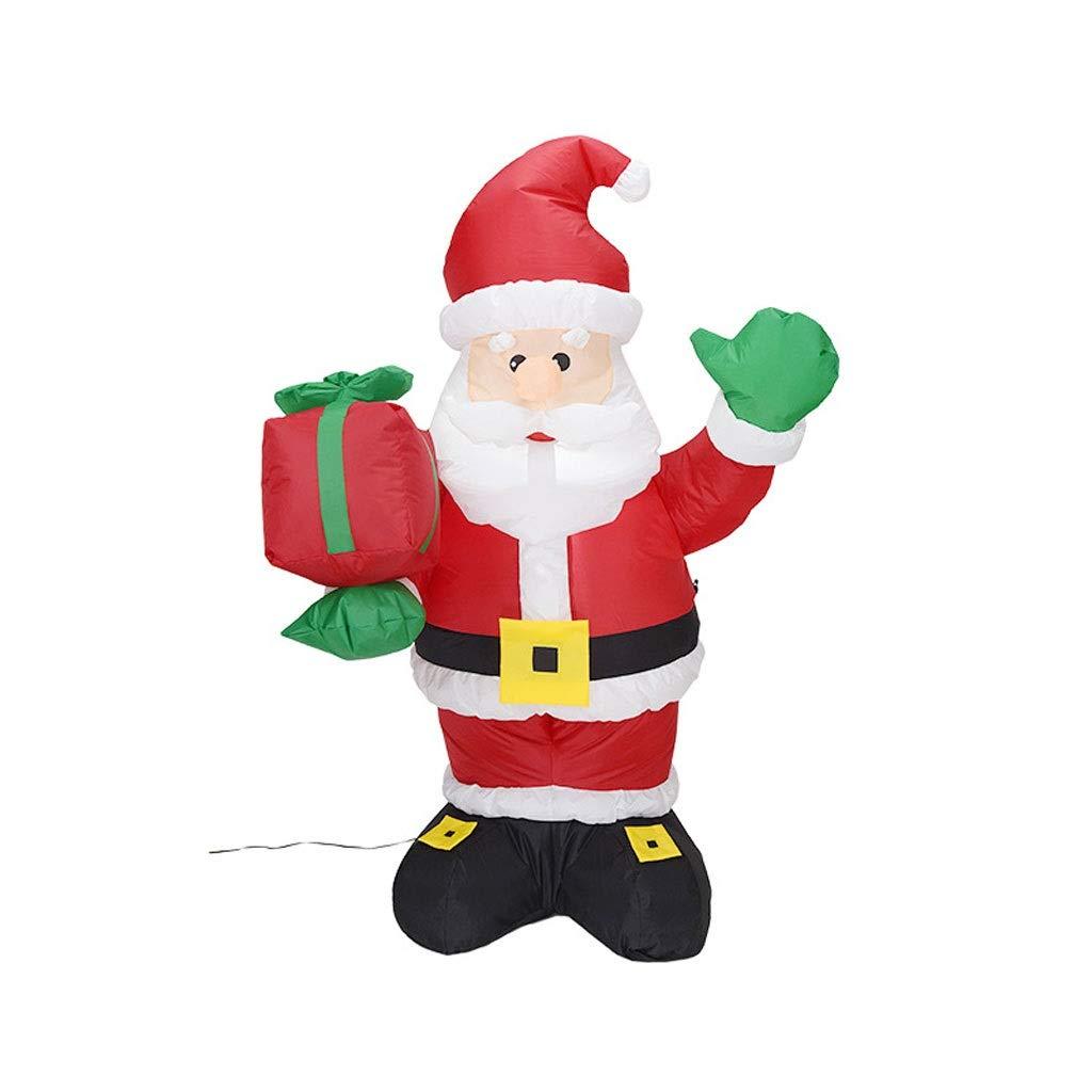 guirnalda Navidad Patio Inflable Santa Claus con Cajas for Blow ...