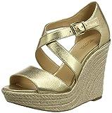 Michael Kors Abbott, Zapatos de Vela. para Mujer, Gold Pale Gold 740, 39 EU