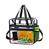 Clear Bag Stadium Approved,Security Approved Clear Tote Bag-12