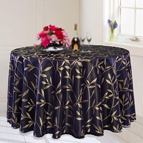 Max Home@ Nappe d'hôtel moderne simple Nappe d'hôtel Nappe d'une grande table ronde Table basse Banquet Nappe de table de mariage ( taille : 220cm )