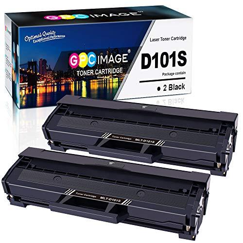 GPC Image kompatible Toner als Ersatz für Samsung MLT D101S/ELS D101S für ML-2160 ML-2165 ML-2165W ML-2168 SCX-3405W SCX-3405F SCX-3405 SCX-3405FW SCX-3400 SF 760 SF760P (Schwarz,2er-Pack,3000 Seiten)