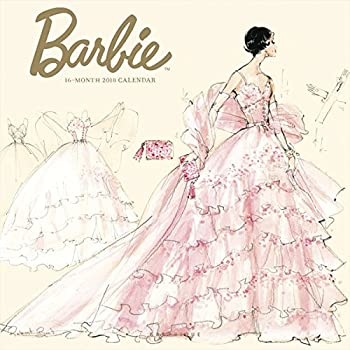 Graphique 2018 Barbie Wall Calendar