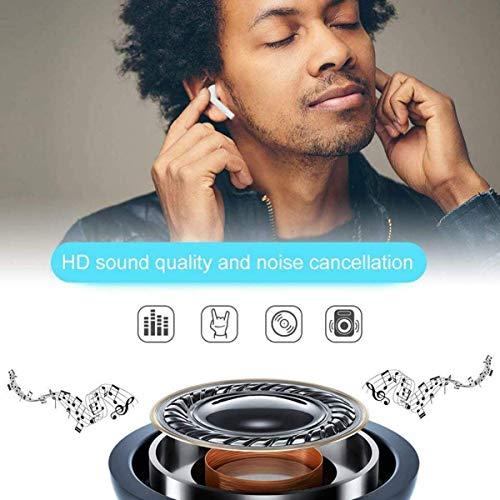 Auriculares Bluetooth,Auriculares inalámbricos Bluetooth5.0 In-Ear Mini Auriculares Auriculares,Bluetooth Headphone Deportivos Estéreo con Mic y Cancelación de Ruido miniatura