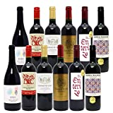 シニアソムリエ厳選 直輸入 赤ワイン12本セット((W0AK34SE))(750mlx12本(6種類各2本)ワインセット)