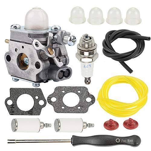 ATVATP 753-06190 BL110 WT-973 Carburetor for Troy Bilt TB22 TB22EC TB32EC Carburetor TB80EC YM21CS TB21EC TB2040XP String Trimmer Bolens BL160 BC210 BC280 CC212 Tiller Murray M2500