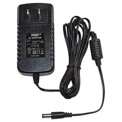 HQRP AC Adapter/Power Supply for Yamaha PSR-170 / PSR170 / PSR-172 / PSR172 Keyboards Replacement [UL Listed] + Euro Plug Adapter