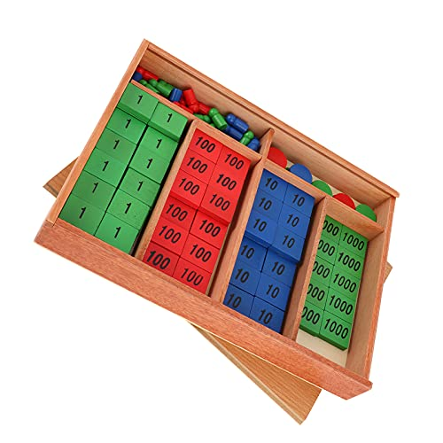 Jiawu Stempel Mathe Spielzeug,...