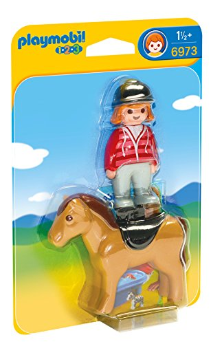 Playmobil Equestrian with Horse
