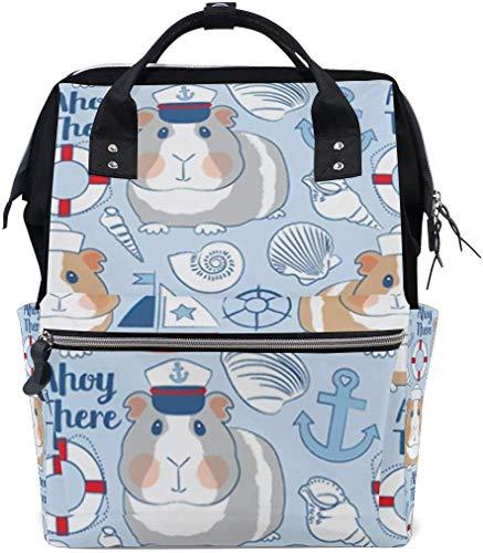 zeeman cavia varkens blauwe luier zakken grote reis luier verpleegkundige rugzak mama tas